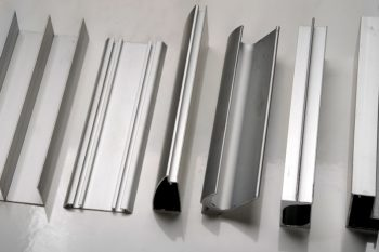 Range of aluminium profiles
