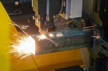Laser cutting square tubes