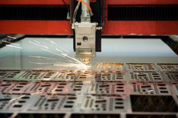Laser cutting thin sheet metal